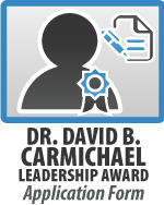 Dr David B Carmichael Leadership Award Application