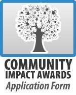 Community Impact Awards Nomination Form Button