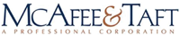 McAfee and Taft Logo