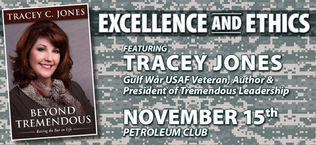 Excellence and Ethics featuring Tracy Jones - OKC Event