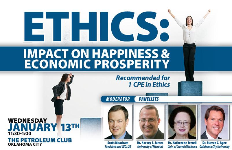 Ethics Impact on Happiness and Economic Prosperity