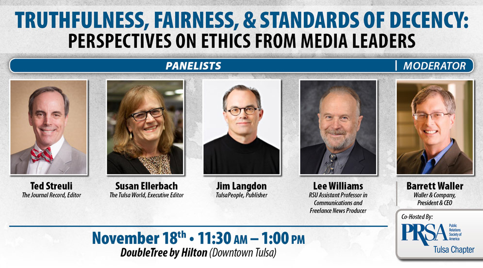 Truthfulness, Fairness and Standards of Decency Panel Info
