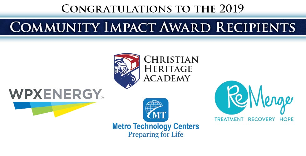 Congratulations to the 2019 Community Impact Award Winners