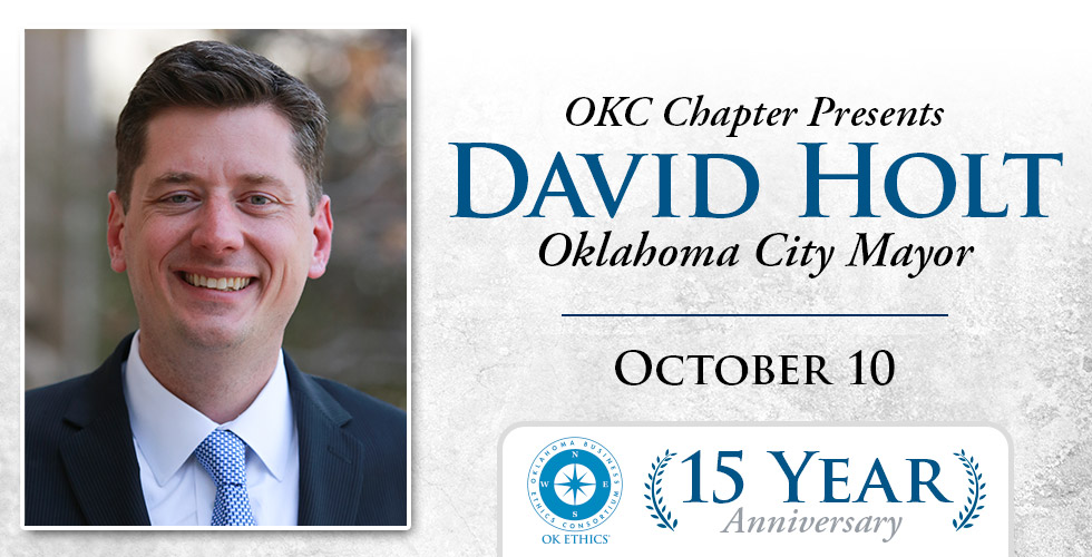 OK Ethics 15 Year Anniversary Featuring David Holt, October 10