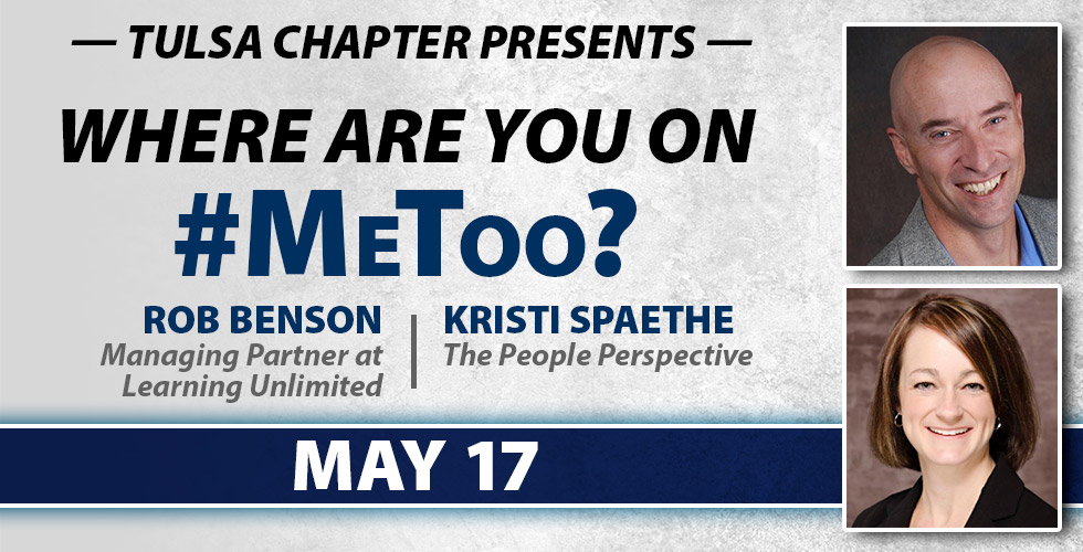 OK Ethics Tulsa Chapter Presents Where are you on Me Too?