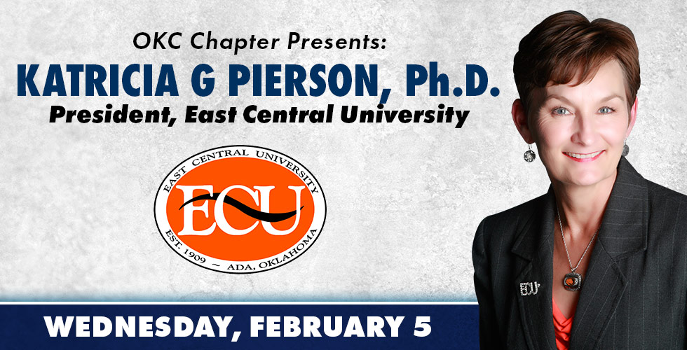 OKC Chapter Presents Katricia G Pierson, Ph D on February 5th
