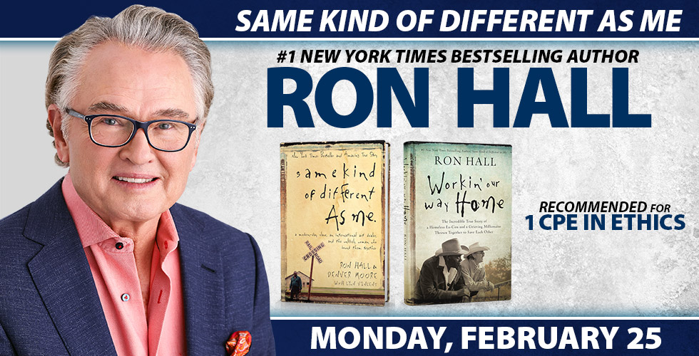 Same Kind of Different as Me Featuring Ron Hall