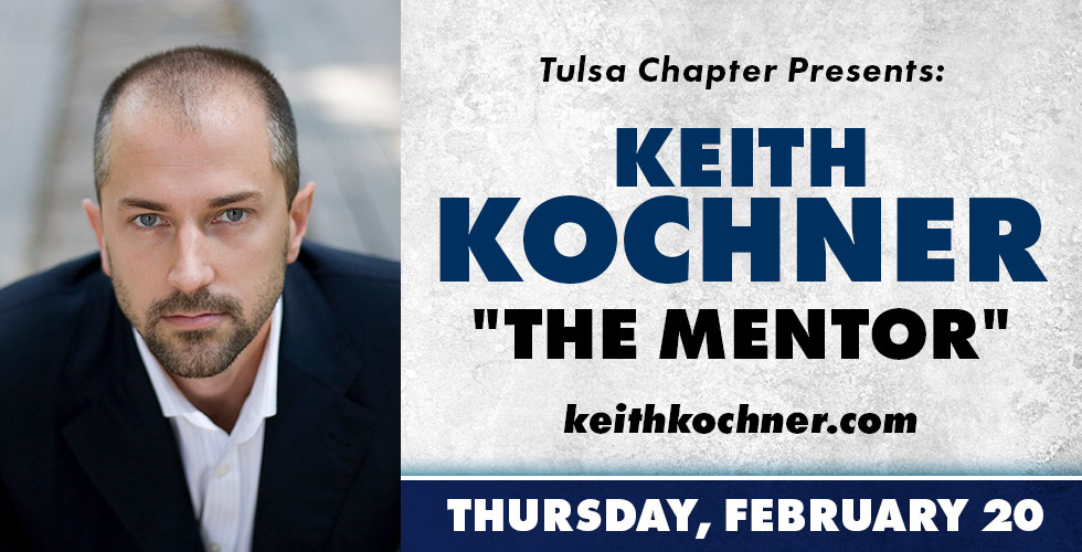 Tulsa Chapter Presents: Keith Kochner on February 20th