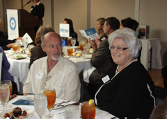 2010 Compass VIP table Edith husband Bill 002.JPG